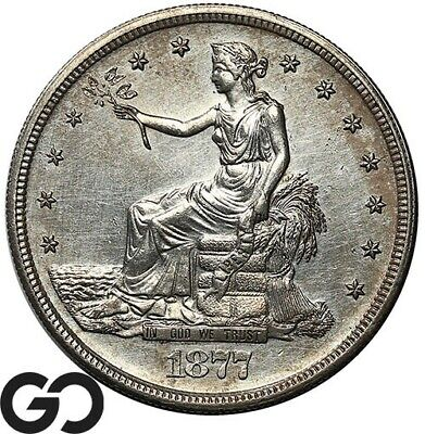 1877-S Trade Dollar, Highly Demanded Silver Dollar Series
