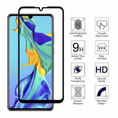 2xFull cover For Huawei P40 Pro P30 Lite P20 Tempered Glass Screen Protector