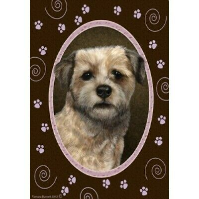 Paws Garden Flag - Border Terrier 171221