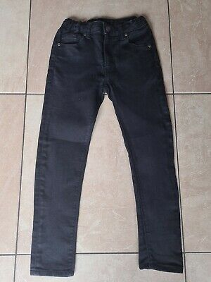 Boys RIVER ISLAND black skinny leg jeans aged 9 years FAB
