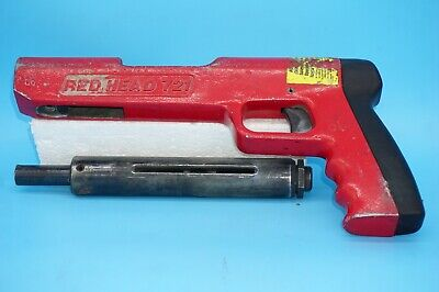 RED HEAD 721 Single Shot ~ Low Velocity ~ Piston Type Fastening Tool