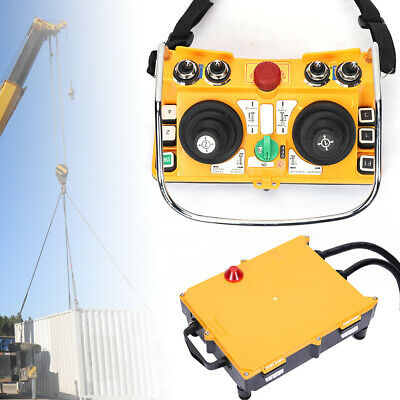 Industrial Wireless Electric Hoist Remote Control Transmitter w/ Receiver F24-60