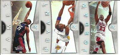 2006-07 Fleer EX Michael Jordan/Kobe Bryant/LeBron James