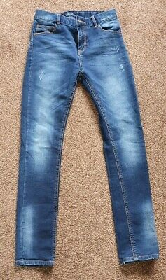 Boys Next Skinny Strech Jeans, Size 14 Years Old, Mint Conditon!!!