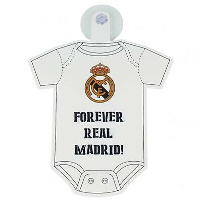 Real Madrid - Baby on Board Window Sign