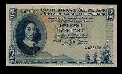 SOUTH AFRICA  2 RAND ( 1962-65 )  PICK #  104b  UNC LESS.