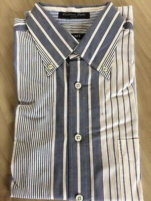 GANT Hemd M Windblown Poplin Preppy 38 39 Bastian Rugger Shirt Business Banker