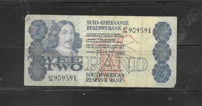 SOUTH AFRICA RSA #118b 1981 VG CIRC RAND BANKNOTE PAPER MONEY CURRENCY BILL NOTE