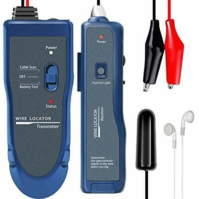 Kolsol Underground Wire Locator Cable Tester F02 Pro with Rechargeable 1100mA...