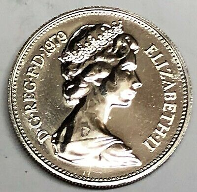 # C5564     GREAT BRITAIN     COIN,     5   NEW PENCE   1979   Proof