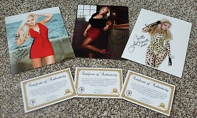 CARRIE LaCHANCE signed 8x10 LIMITED EDITION PHOTO with COA LOT A