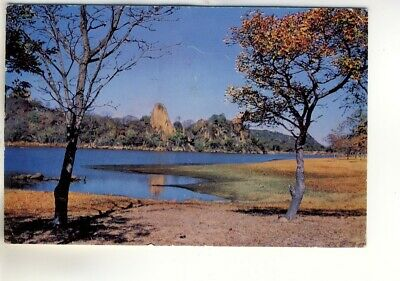 "A ""Veld Life"" Post Card of Mtsheleli Dam, Matopos National Park, Rhodesia."