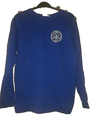 H&M Longline sweat top size 12-14 years -  excellent con