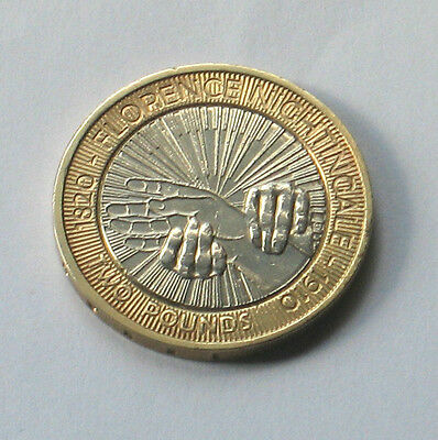 1 x 2010 £2.00 Coin to Commemorate 150 years of Nursing & Florence Nightingale.