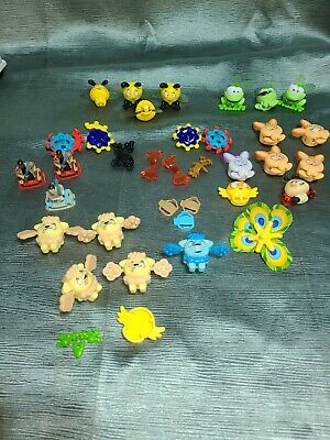 Lot Kinder Surprise Toys. Different Types. Frogs, Rabbits,Star Wars, Poodles