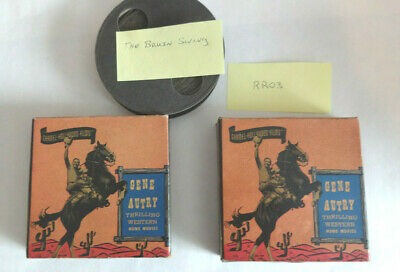16 mm movies, lot of 3, Gene Autry 7040A and 7042A, and The Bruin Swing