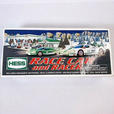 Hess 2009 Toy Truck Race Car and Racer Lights & Sound Racing Car with Manual