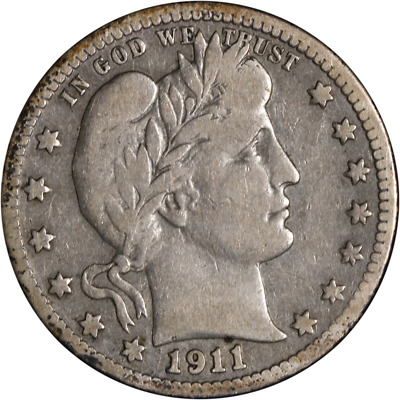 1911-S Barber Quarter Great Deals From The Executive Coin Company