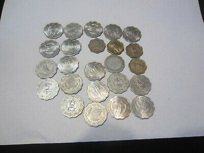 Group of 27 India 10 Paise Coins