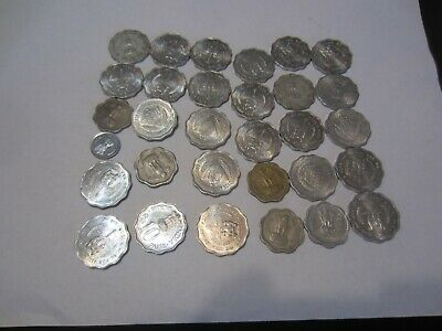 Group of 30 India 10 Paise Coins