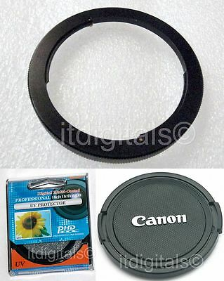 67mm Filter Adapter UV Lens Cap Canon Powershot SX30 IS SX30IS Camera 67 mm U&S