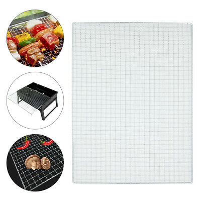 BBQ Barbecue Grill Stainless Steel Replacement Mesh Wire Net Outdoor Camping UK