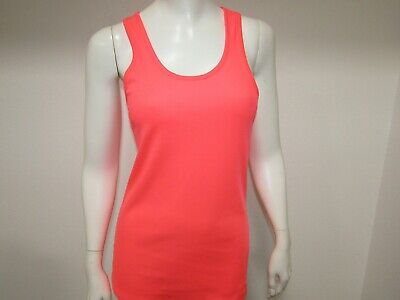 Under Armour Unstoppable Draped Open Back Tank Top Honeysuckle Medium NWT $32.99