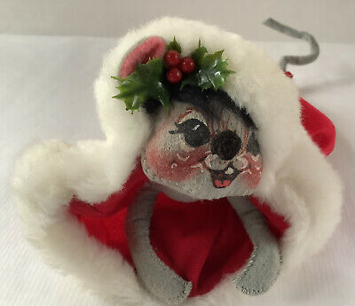 Annalee Annalee Mobilite Doll  Carolor Mouse Meredith Christmas Series 1957 1983 Christmas DecorationHoliday
