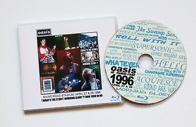 Oasis at Maine Road ~ April 1996 (WTS)MG? TOUR live Region Free Blu Ray