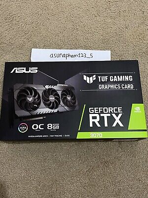 ASUS TUF Gaming GeForce RTX 3070 OC 8GB GDDR6X Graphics Card In Hand  Ship!
