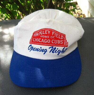 Distressed Used Baseball Cap - Opening Night Wrigley Field Home Of Chicago Cubs