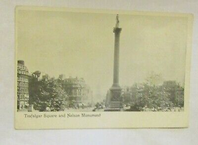 London - Trafalgar Square and Nelson Monument