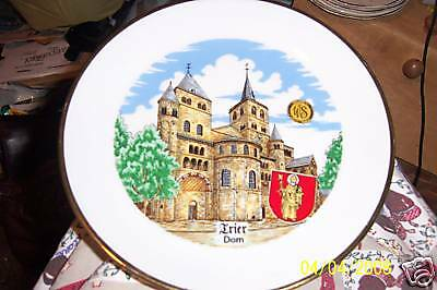 """WS George """"Frier Dom"""" collector plate"""
