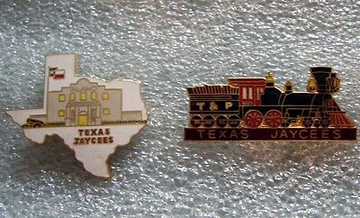 Jaycees - Texas State Outline and Locomotive Set