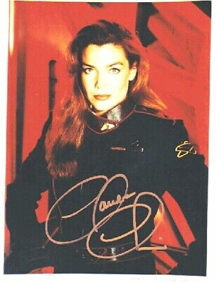 Claudia Christian as Ivanova Babylon 5 Autograph
