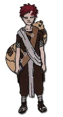 """Naruto Gaara in Human Form Figure Embroidered  4"""" Patch NEW UNUSED"""