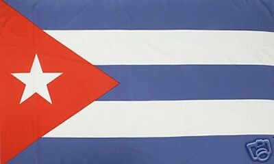 3'x5' CUBA LIBRE CUBAN FLAG OUTDOOR INDOOR BANNER REPUBLIC CARIBBEAN ISLAND 3X5