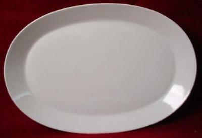 """HUTSCHENREUTHER china NOBLESSE 16001 12"""" OVAL PLATTER"""