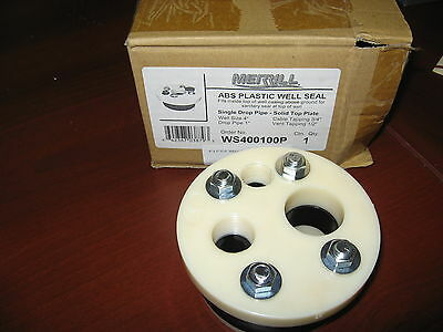 """New 4"""" Sanitary Water Well Seal"""
