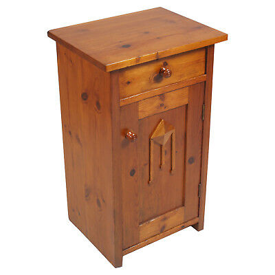 COMODINO 800 ARTE POVERA VENETO RESTAURATO antique country nightstand - MA M43