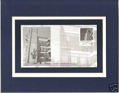 Yale Art + Architecture Bldg Paul Rudolph 1st Day Cover Yale Univ Bldg Stamp