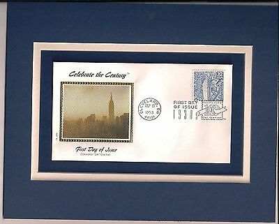 Empire State Building 1st Day Cover Empire State Building Stamp