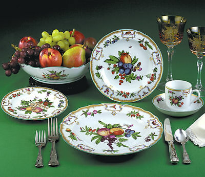 "Mottahedeh ""duke Of Gloucester"" 5 Piece Place Setting Williamsburg Collection"