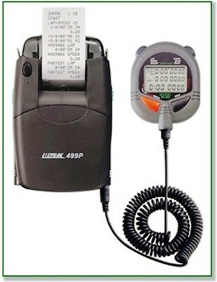ULTRAK 499-SET 2000-Lap Stopwatch with System Printer