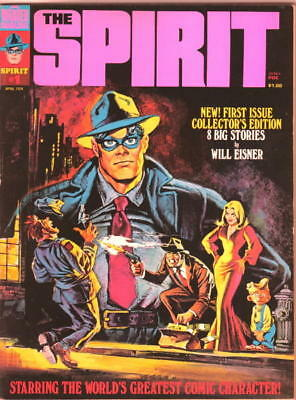 The Spirit Comic Magazine #1, Warren 1974 VERY FINE