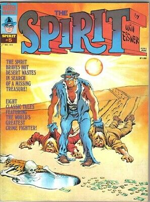 The Spirit Comic Magazine #5, Warren 1974 FINE