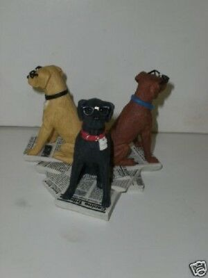 "Will Bullas Fun Art THE NERD DOGS ""New in Box"""