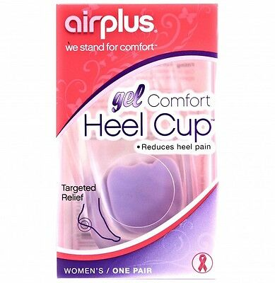 AIRPLUS GEL HEEL CUPS womens fits most sizes