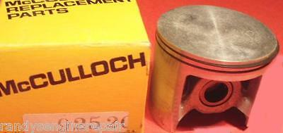 Vintage Chainsaw NOS McCulloch Piston With Rings 92520 Sp81 Pro Mac 850 800 805