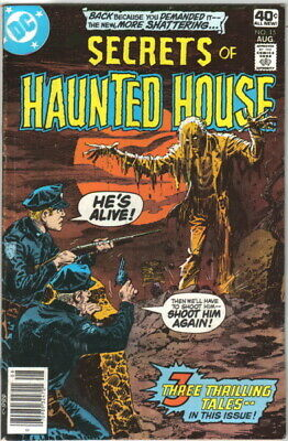 Secrets of Haunted House Comic Book #15 DC Comics 1979 VERY FINE-